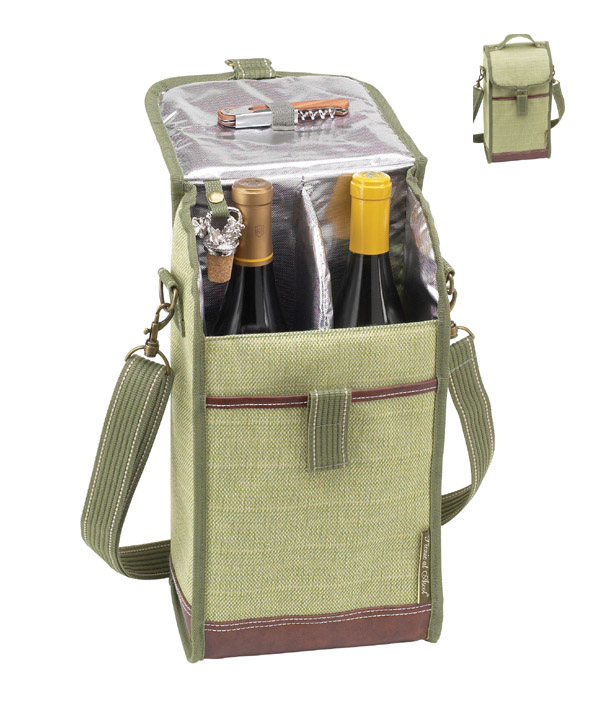 2 Bottles Cooler Cooler Bag