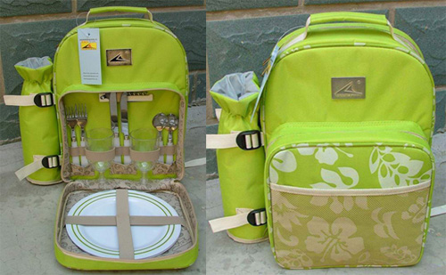 Picnic Backpack for 2 persons