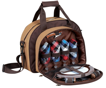 Picnic Backpack for 4 persons