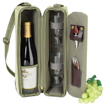 Single Bottle Wine Bag