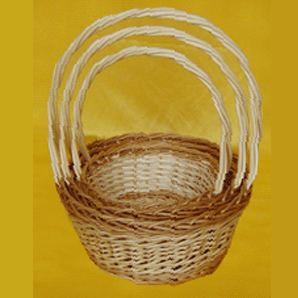 Willow handled basket