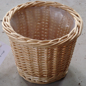Willow Pot Cover Basket